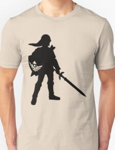 The Legend of Zelda Link Silhouette Unisex T-Shirt