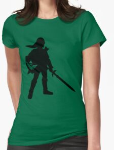 The Legend of Zelda Link Silhouette Womens Fitted T-Shirt