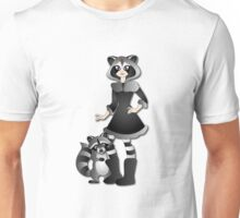 Twisted - Wild Tales: Ayasha and the Raccoon Unisex T-Shirt