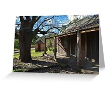 Settlers' Cabin 2 Greeting Card