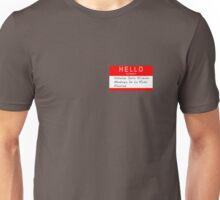 Highlander - Hello my name is... Unisex T-Shirt