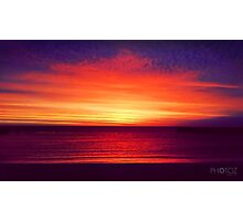 Coastal Summer Sunset WA Photographic Print