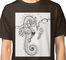 Daddy and me - Seahorse father and baby Classic T-Shirt