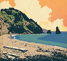 Cape Breton Highlands National Park poster by Cameron Stevens