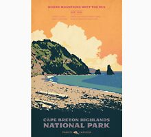 Cape Breton Highlands National Park poster Classic T-Shirt