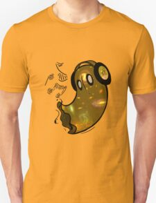 Music Lover: Nabstablook (Yellow) T-Shirt