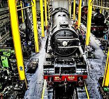 Train workshop, York Train Museum by Simon Duckworth