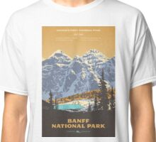 Banff National Park poster Classic T-Shirt
