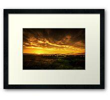 Yorkshire Countryside Framed Print
