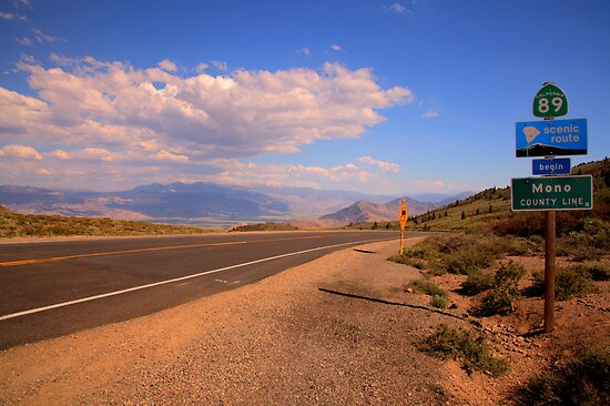 Mono County Line by Dale Lockwood