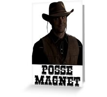 Supernatural - Dean Winchester - Posse Magnet Greeting Card