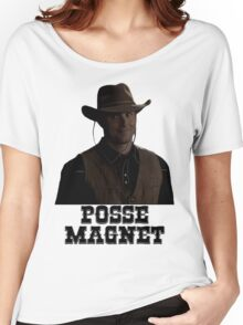 Supernatural - Dean Winchester - Posse Magnet Women's Relaxed Fit T-Shirt