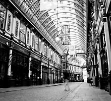 "Leadenhall Market London "" Ghost "" by DavidHornchurch"