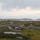 Aughrus Point Connemara Galway by Declan Carr
