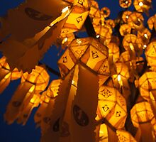 Lanterns of Asia by PerkyBeans