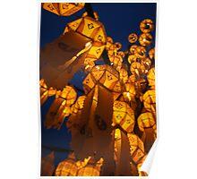 Lanterns of Asia Poster