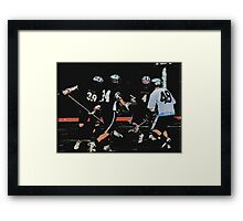 051612 223 1 comic book boys lacrosse cloth 11 Framed Print