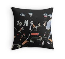 051612 223 1 comic book boys lacrosse cloth 11 Throw Pillow