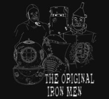 Iron Men of the Past by Ersu Yuceturk