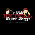 Ye Old Hicbell Shoppe - Poster by IMTShop