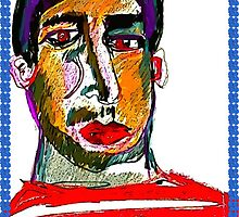 Portrait Of An Unknown Man Digital by Kater