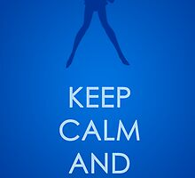 Keep Calm - Sailor Mercury Poster 2 by SimplySM