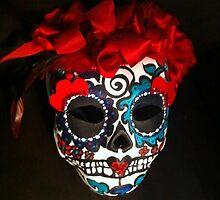Calavera Mask by Suzi Linden