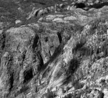 Grand Canyon of the Tuolumne - Yosemite Sticker
