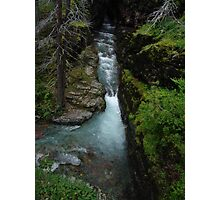 AVALANCHE CREEK, GLACIER NATIONAL PARK Photographic Print