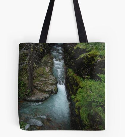 AVALANCHE CREEK, GLACIER NATIONAL PARK Tote Bag