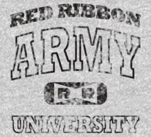 Red Ribbon Army University vintage (black) by karlangas