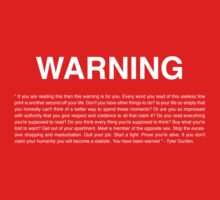 Warning by Seignemartin