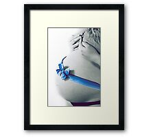 Pregnant woman. Framed Print