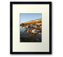Rockpools Framed Print