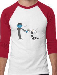 Snake Charmer Men's Baseball ¾ T-Shirt