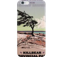Killbear Provincial Park poster iPhone Case/Skin