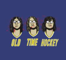 Old Time Hockey by Tom  Ledin
