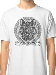 Legend of Zelda Twilight Princess Wolf Link Line Artly  Classic T-Shirt