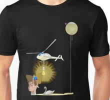 flying light Unisex T-Shirt