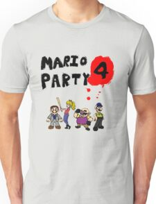 Mario Party 4: Left 4 Dead Unisex T-Shirt