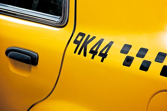 New York Taxicab by Fern Blacker