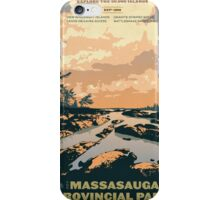 Massasauga Provincial Park iPhone Case/Skin