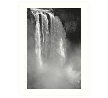 snoqualmie falls, washington, usa - july 24, 2012 Art Print