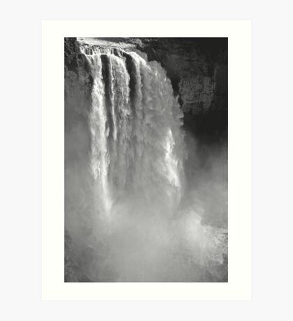 snoqualmie falls, washington, usa - july 24, 2012 Art Print