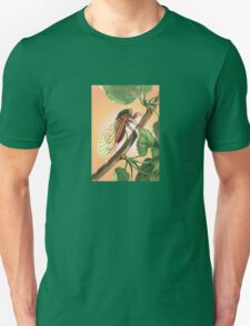 Vector Image of A 17 Year Cicada Unisex T-Shirt
