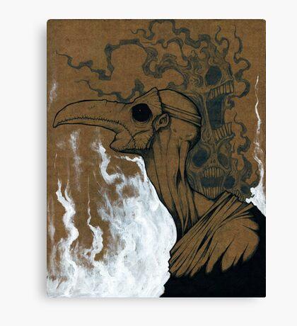 A plague of Sorrow Canvas Print