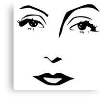 Old Hollywood - Greta Garbo Canvas Print