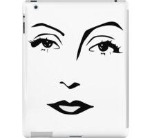 Old Hollywood - Greta Garbo iPad Case/Skin