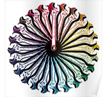Wrench Color Wheel A Poster