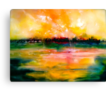 The Remains Of The Day... Canvas Print